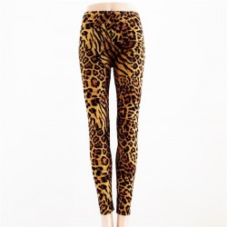 Leggings Léopard MARRON