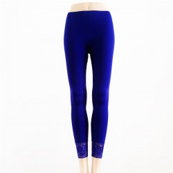 Leggings Opaque BLEU ROYAL / VIOLET