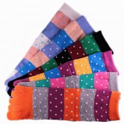 Pack de 6 Paires Chaussettes à doigts Mixte
