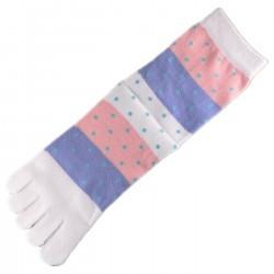 Pack de 2 Paires Chaussettes à doigts Mixte
