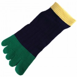 Pack de 2 Paires Socquettes à doigts T.U. Mixte