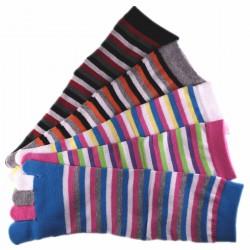 Pack de 5 Paires Chaussettes à doigts Toe Toe Mixte