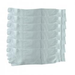 Pack de 6 Paires Chaussettes à doigts Gris T.U. Mixte