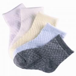 Pack de 5 Paires Chaussettes Bébé