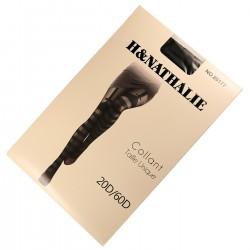 Collant Fantaisie SEXY Effet Jarretelles 20/60DEN Noir