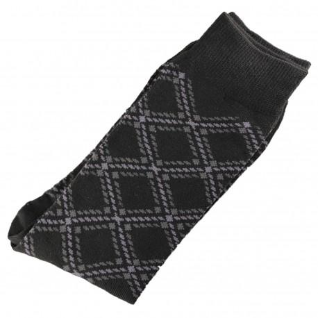 Pack de 2 Chaussettes Homme Classique Coton Noir