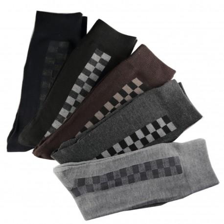 Pack de 12 Paires Chaussettes Assorties Homme Coton