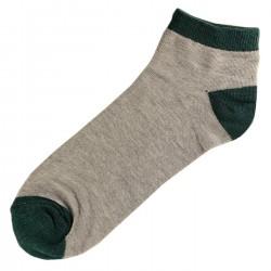 Socquettes Coton Homme T.U. Vert