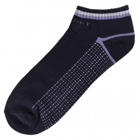 Pack de 3 Paires Socquettes Coton Sport Homme T.U. Bleu Marine