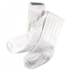 Collant Enfant Coton Blanc