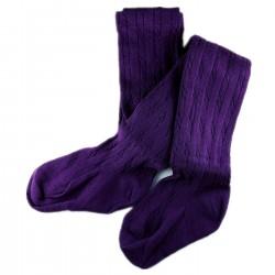 Collant Enfant Coton Violet