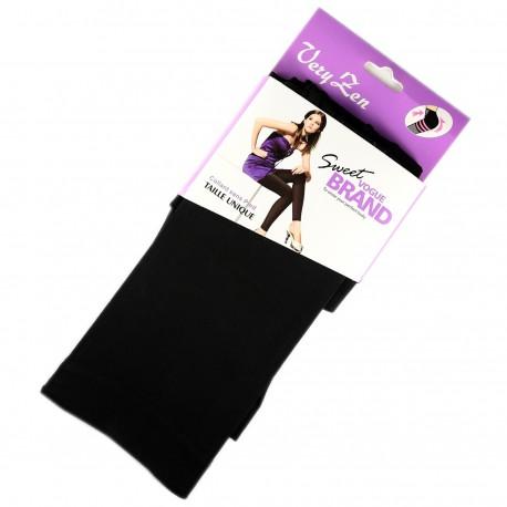 Legging Opaque Coloré 60DEN Noir Color Block
