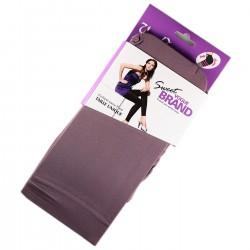Legging Opaque Coloré 60DEN Mauve Color Block