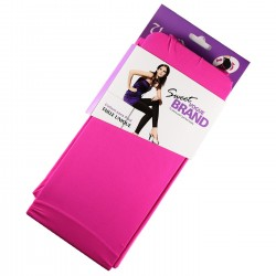 Legging Opaque Coloré 60DEN Rose FLUO Color Block