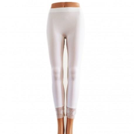Leggings Opaque BLANC