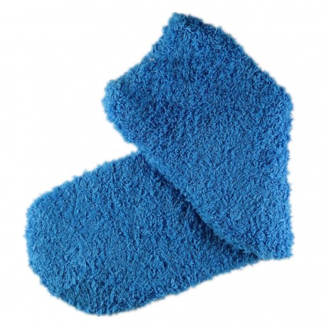 Pack de 2 Paires Chaussettes Chaudes Polaires T.U. Bleu turquoise