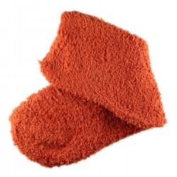 Pack de 2 Paires Chaussettes Chaudes Polaires T.U. Orange brûlée