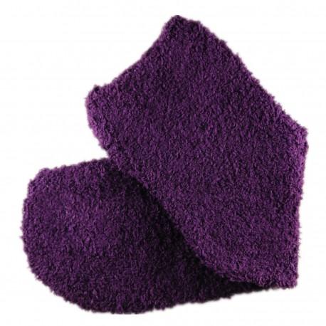 Pack de 2 Paires Chaussettes Chaudes Polaires T.U. Violet