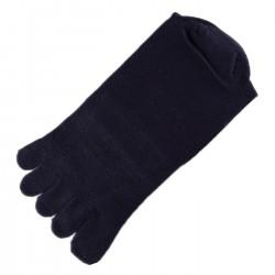 Chaussettes à doigts Mixte Bleu foncé T.U.