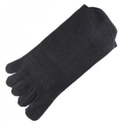 Chaussettes à doigts Mixte Gris foncé T.U.