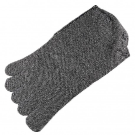 Chaussettes à doigts Mixte Gris T.U.