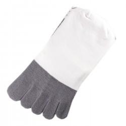 Chaussettes à doigts Blanc T.U.