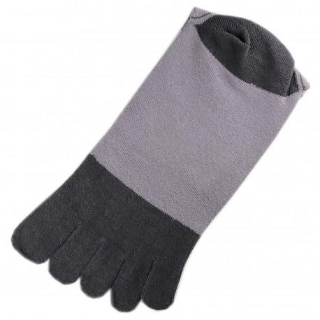 Chaussettes à doigts Gris T.U.