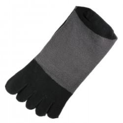 Chaussettes à doigts Noir T.U.