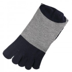 Chaussettes à doigts Bleu T.U.