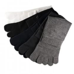 Pack de 5 Paires Chaussettes à doigts Assorties T.U.