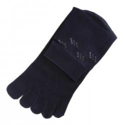 Chaussettes à doigts Bleu foncé T.U.