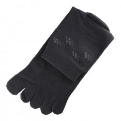 Chaussettes à doigts Gris foncé T.U.