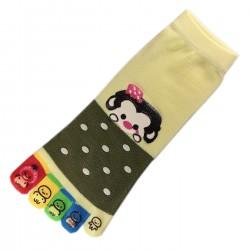 Socquettes à doigts GUENON Monkey T.U.