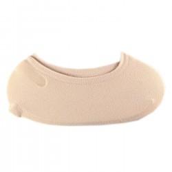 Pack de 3 Paires Socquette Invisible Extensible Beige